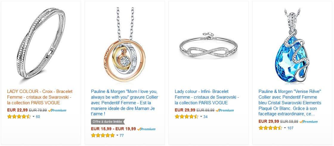 bijoux or pas cher